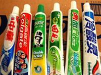 牙膏灌装效果