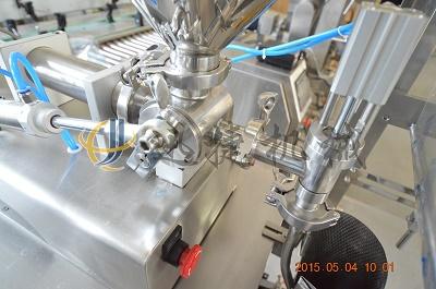 自动液体包装机细节