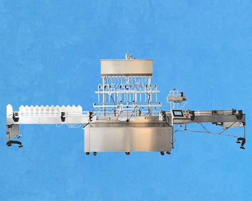 12头液体定量灌装机