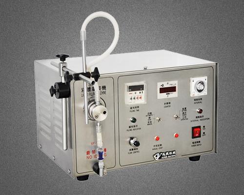 磁力泵式半自动液体灌装机