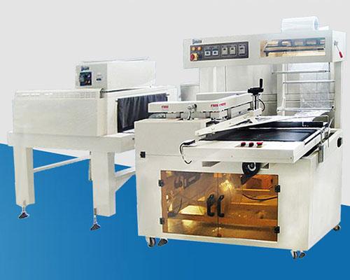自动塑料膜套膜热收缩包装机