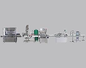 工厂实拍润滑脂灌装生产线 平稳高效 不倒瓶